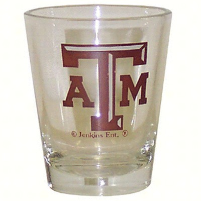 Shot Glass Logo - Texas A&M Aggies