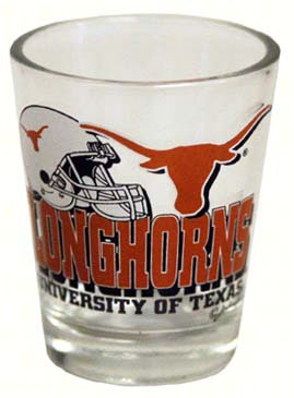 Shot Glass Helmet - Texas Longhorns
