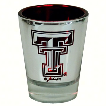 Shot Glass Lasercut - Texas Tech Red Raiders