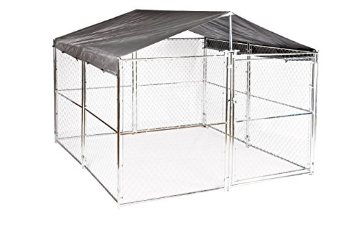 Weatherguard™ Universal 10'W x 10'L Kennel Cover Plus with Frame