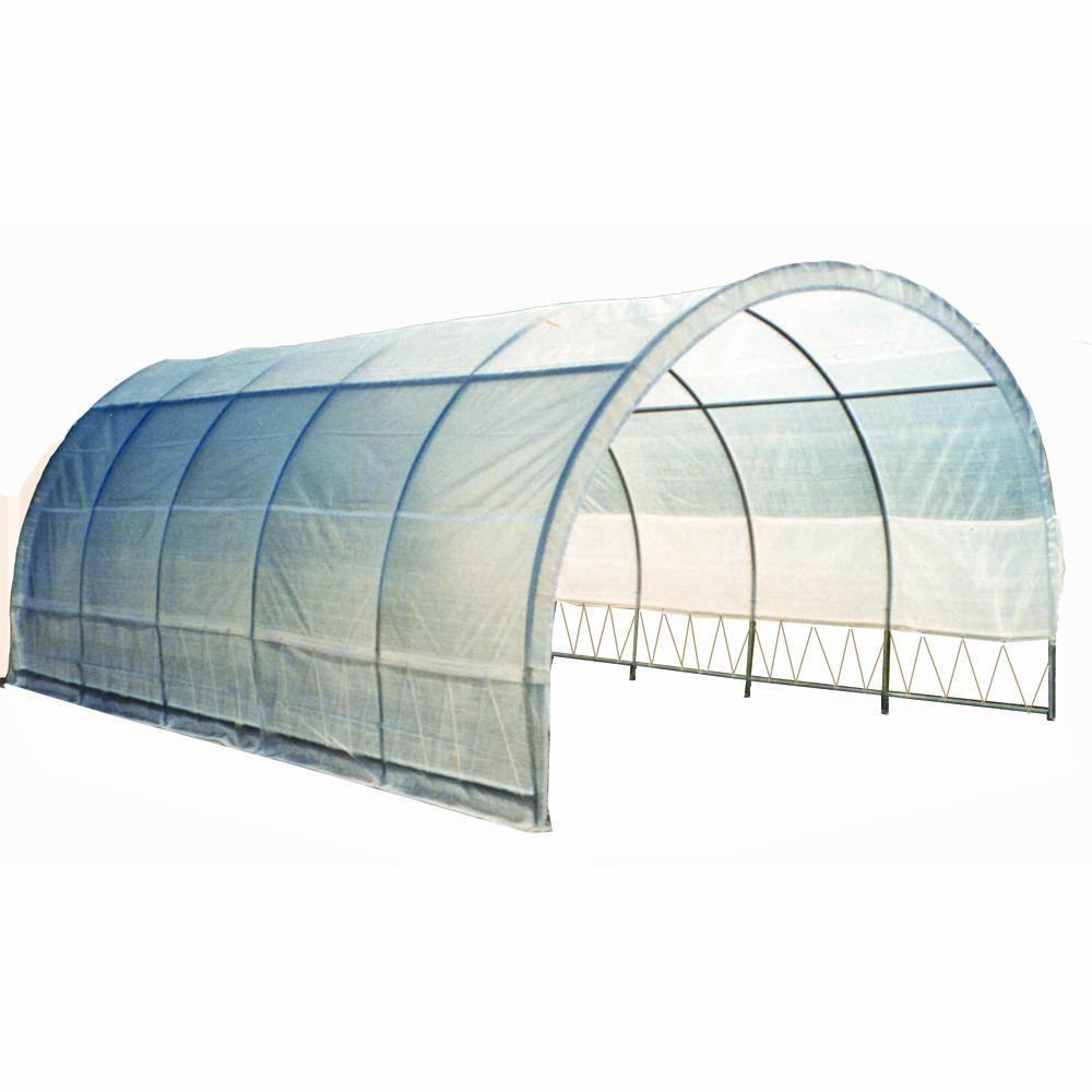 "Weatherguard 8'6""H x 12'W x 20'L round top greenhouse"