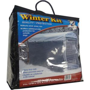 "5' x 30"" Lucky Dog™ Winter Screen Kit side cloth"