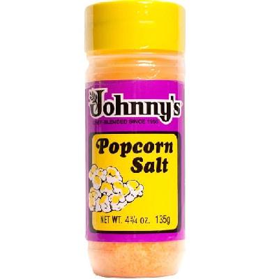 Johnnys Popcorn Salt (6x4.75OZ )