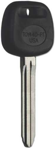 TOYOTA TRANSPONDER KEY TOY44D-PT