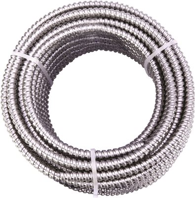 GREENFIELD EXTRA FLEXIBLE STEEL CONDUIT, 3/8 IN., 100 FT.