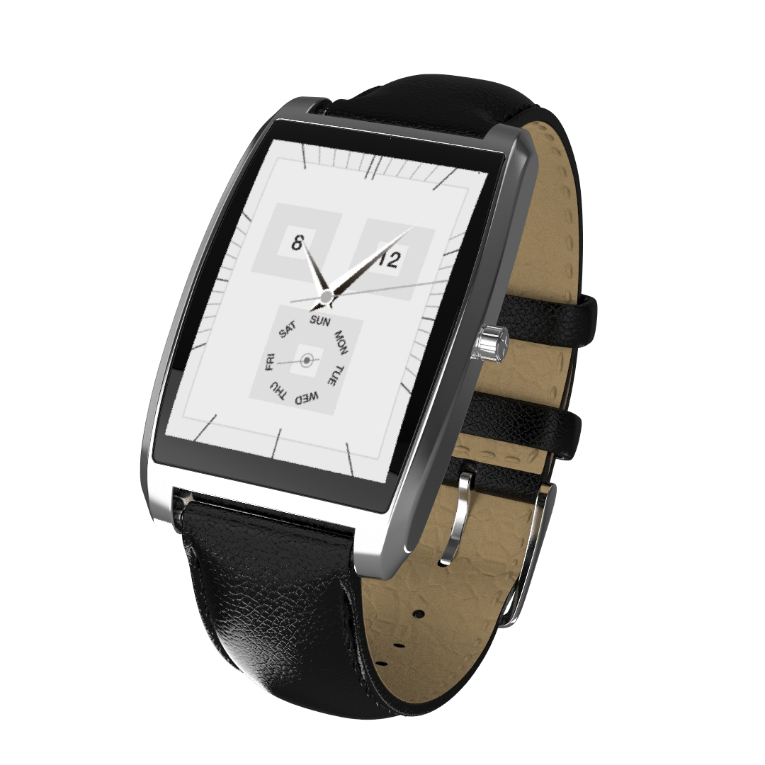 KARACUS K1MS METALLIC SILVER TRITON SMART WATCH WITH 6