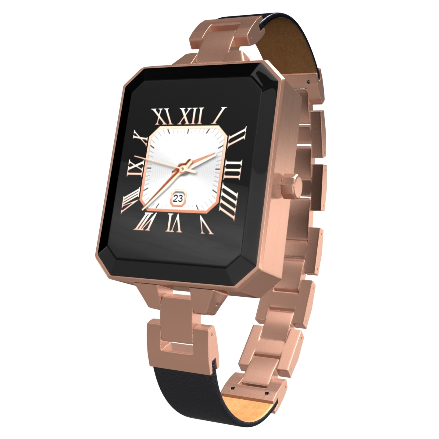KARACUS K2RG ROSE GOLD DIONE SMART WATCH WITH 6 PATTERN