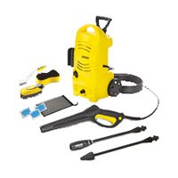 KARCHER 1.601-176.0 Corded Pressure Washer Carcare Kit, 1600 psi, 1.3 gpm, 120 V