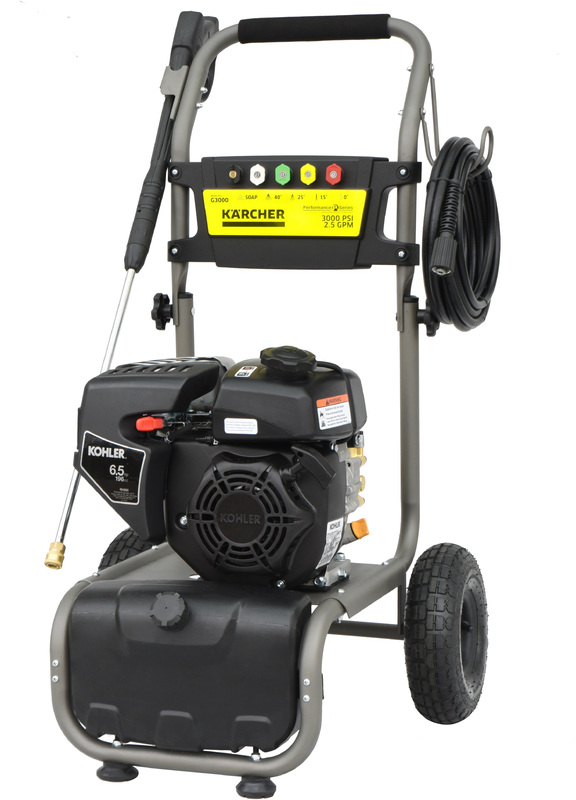 PRESSURE WASHER GAS 3000PSI