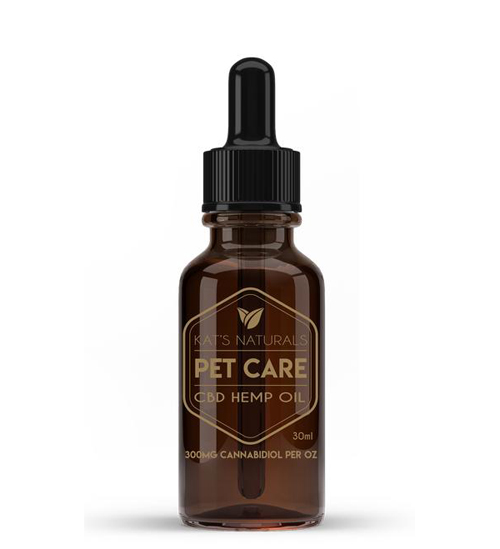 Kat's Naturals CBD Oil, Pet Care, 300mg, 15m