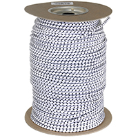 Hampton 06171 Heavy Duty Bungee Cord, 1/4 in Dia x 300 ft L