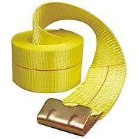 WINCH STRAP FLT/HK 5000 4X30FT