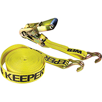 Keeper 04622 Ratchet Tie Down, 3333 lb, 27 ft L x 2 in W