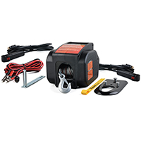 WINCHES ELEC W/BALL MNT 2000LB