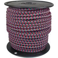 Hampton 06415 Bungee Cord, 5/16 in Dia x 125 ft L