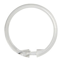 SHOWER RING SMOOTH CLR