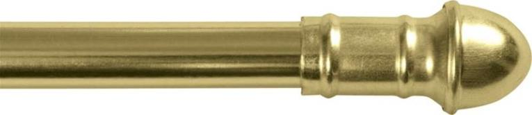 CAFE ROD 48-84 7/16IN BRASS