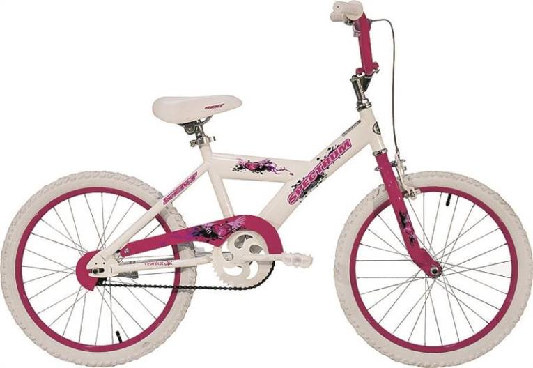 Kent Lucky Star Kids Bicycle, 20 in Front, 20 in Rear, Steel Frame, Blue/Pink