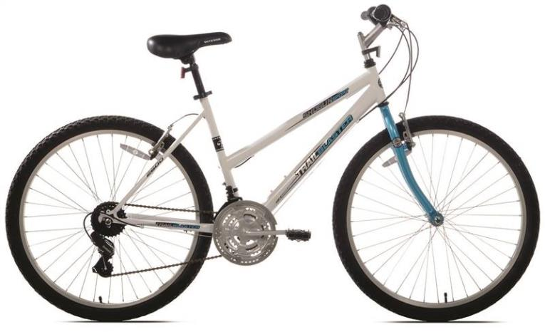 Kent Shogun Trail Blaster Sport Bicycle, 26 in Front, 26 in Rear, Steel Frame, Terrain Teal/White