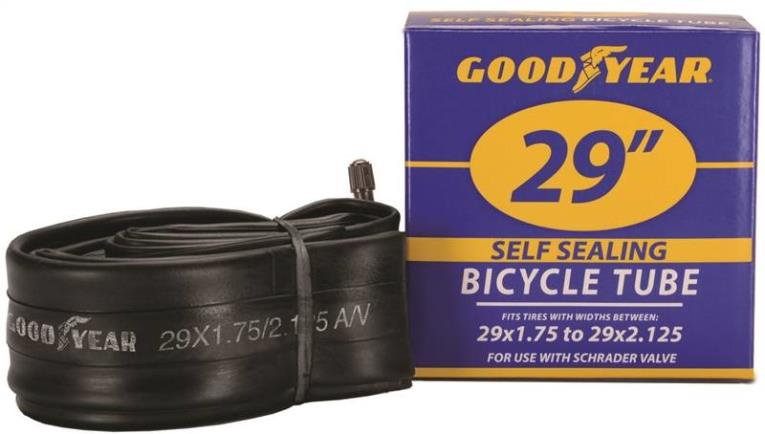 Goodyear 91089 Self-Sealing Bicycle Tube, For Use With 29 in x 1-3/4 - 2-1/8 in Width Bicycle Tires