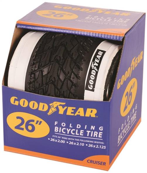 TIRE CRUISER 26 X 2.125 WHITE