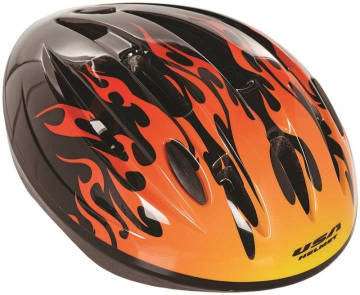 Kent 97029 Child Helmets, V-9, Hot Rod Flames
