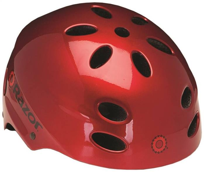 Kent 97791 Razor Youth Helmets, V17, Red