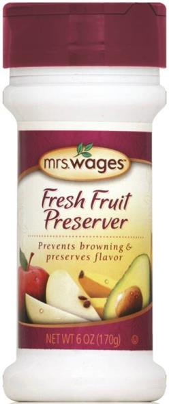 Mrs. Wages W589-H5425 Fresh Fruit Preserver, 6 oz