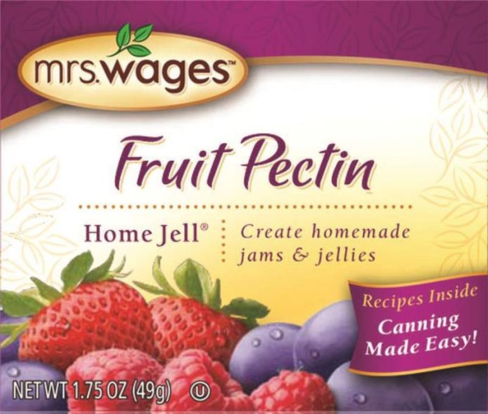 Mrs. Wages W596-H3425 Home Jell Fruit Pectin, 1.75 oz Pouch