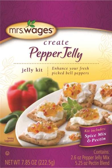 Mrs. Wages W806-D9425 Pepper Jelly Kit, 7.85 oz