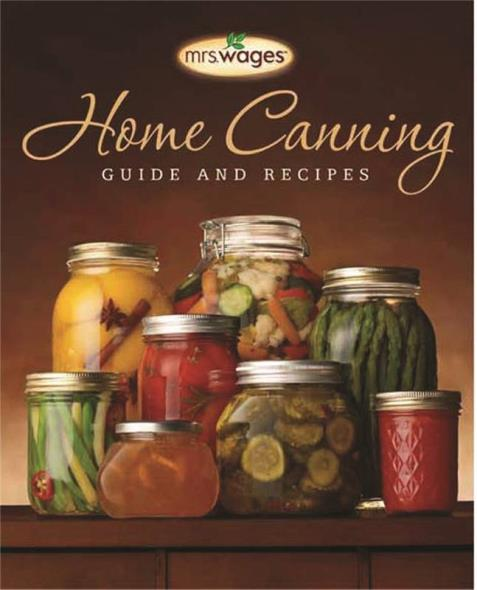 Mrs. Wages O103-J4255 Book, Home Canning Guide, English