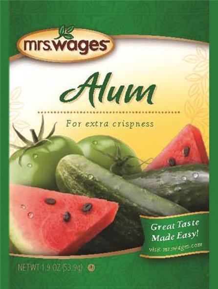 Mrs. Wages W653-DG425 Alum Crisper, 1.9 oz Pouch