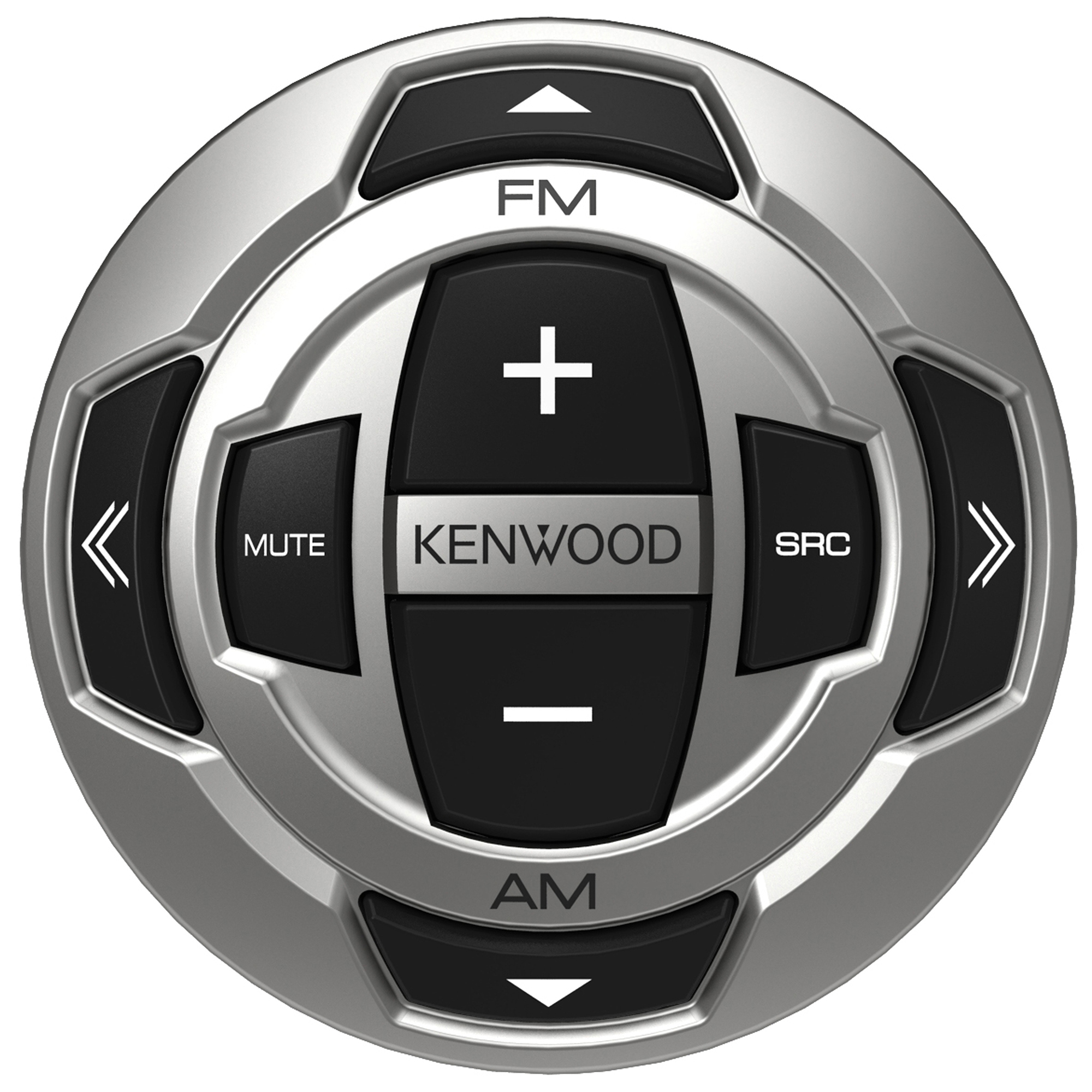 Kenwood Rounded Wired Marine LCD Remote
