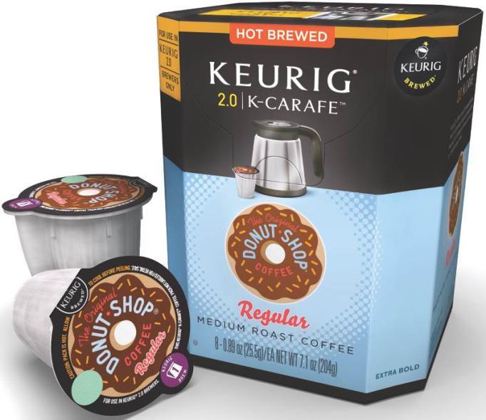 COFFEE K-CARAFE DS MED 8CT