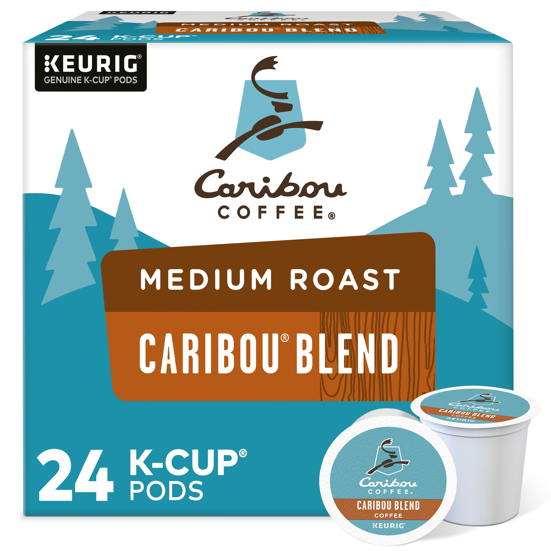 COFFEE POD CARIBOU MED ROAST