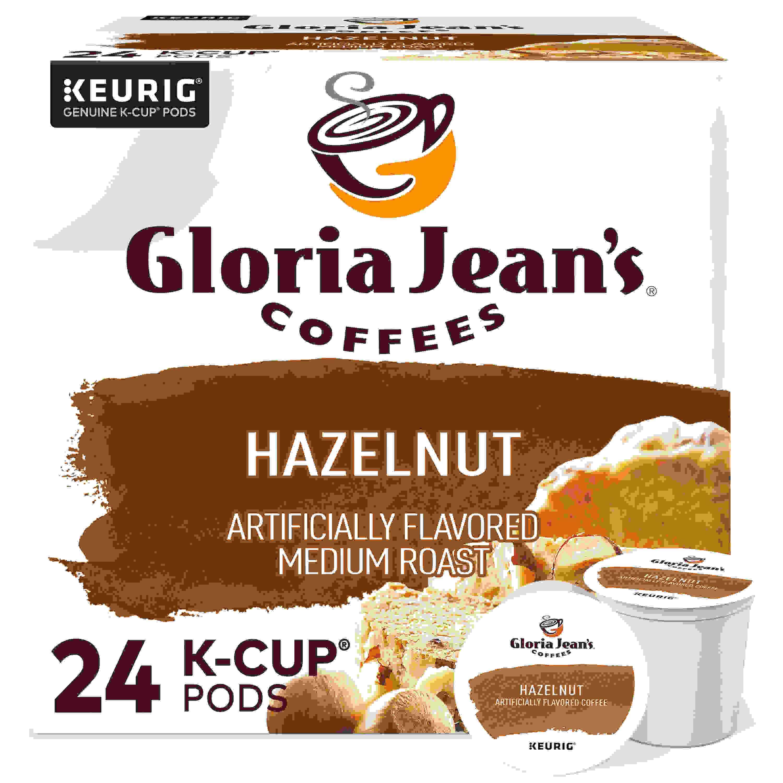 COFFEE POD HAZELNUT MED ROAST