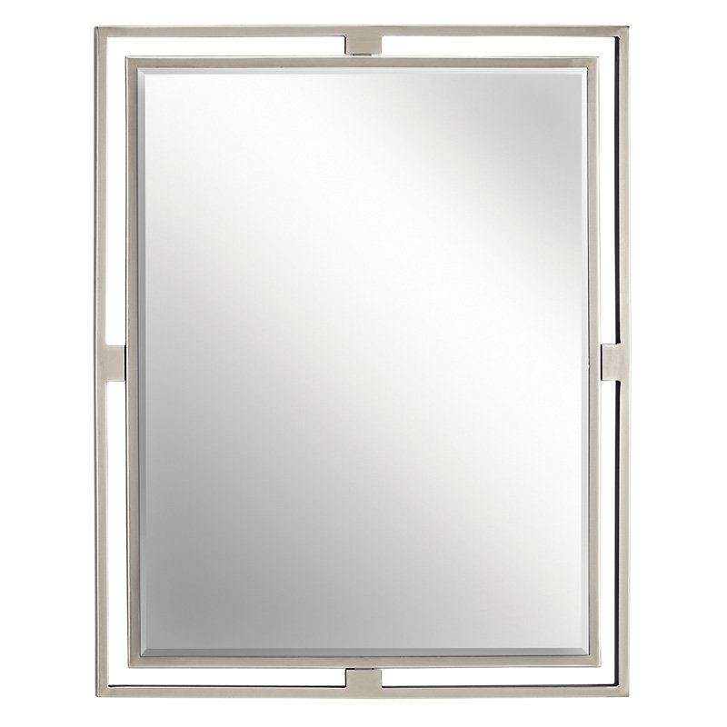 24 X 30 Mirror Brushed Nickel *hendri