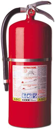 FIRE EXTINGUISHER PROPLUS 20MP 20# ABC WITH WALL BRACKET