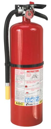 FIRE EXTINGUISHER PRO 10 LB MULTI-PURPOSE 4A:60BC RECHARGEABLE