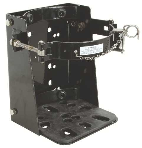 FIRE EXTINGUISHER VEHICLE BRACKET 20 LB.
