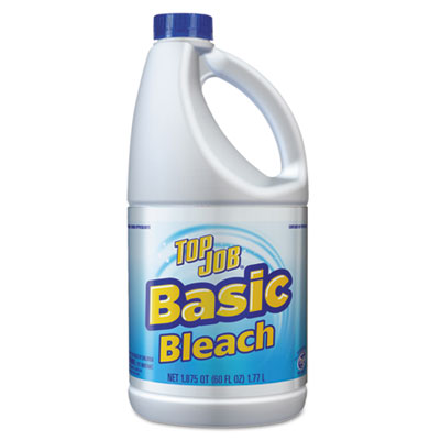 Regular Bleach, 60 oz Bottle, 8/Carton