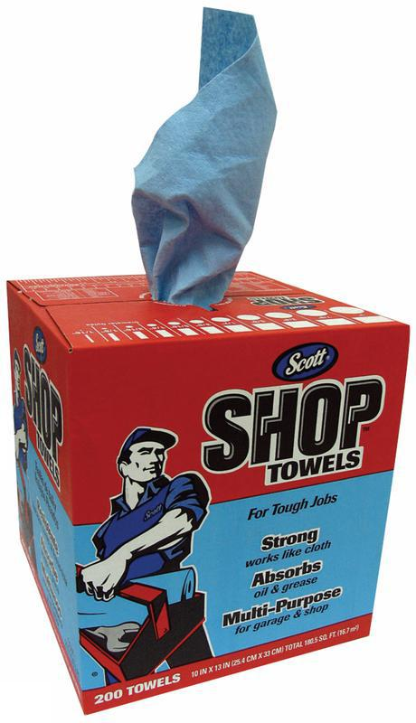 75190 200 COUNT SHOP TOWELS