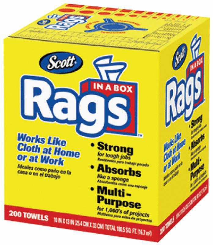 75260 200 COUNT RAGS IN A BOX