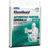 KleenGuard Krew Disposable Hooded Protective Coverall, X-Large, Fabric, White