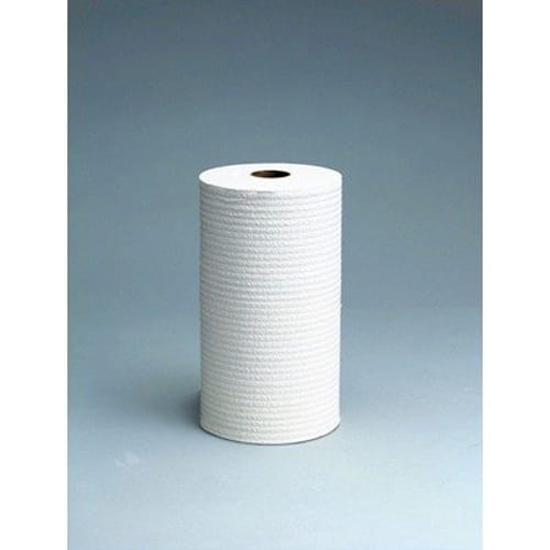 X60 Wipers, Small Roll, 9 4/5 x 13 2/5, White, 130/Roll, 12 Rolls/Carton