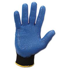 G40 Nitrile Coated Gloves, Medium/Size 8, Blue, 12 Pairs