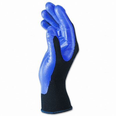 G40 Nitrile Coated Gloves, X-Large/Size 10, Blue, 12 Pairs