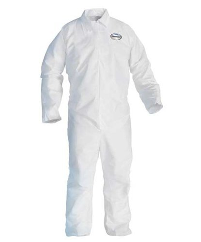 A20 Breathable Particle Protection Coveralls, 4X-Large, White, 20/Carton