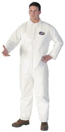 KLEENGUARD COVERALL LIQUID AND PARTICLE PROTECTION XX LARGE