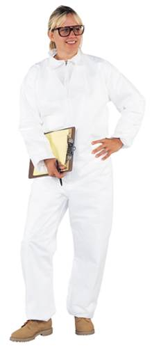 KLEENGUARD A20 COVERALLS ZIP FRONT ELASTIC XL WHITE